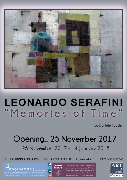 MEMORIES OF TIME - Mostra Personale a Spoleto